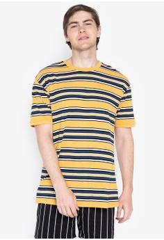 5b0287cd5 Penshoppe yellow Relaxed Striped Tee ED791AA7FD27C7GS_1