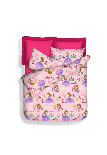 Eurotex Disney Princess, Sofia Best Me Fitted Sheet Set. 2220AHL0C04DADGS_1