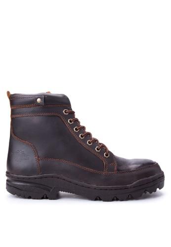 Caterpillar brown BCAT-08 Boots CA367SH82ELLPH_1
