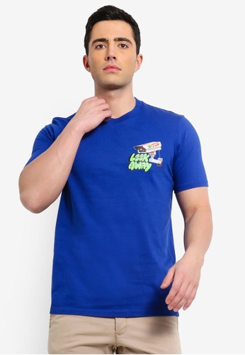 Cotton On blue Street T-Shirt DAFD1AAD22E333GS_1