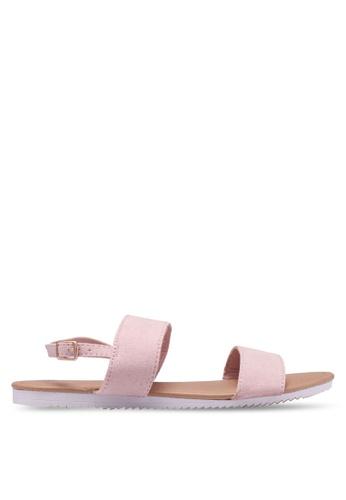 Rubi pink Everyday Marley Minimal Sandals AA65CSHBD2A0BAGS_1