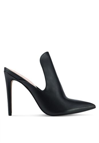 ALDO black Tenno Mule Heels 47584SH2195DDBGS_1