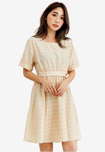 5a2ecd53e7a1 Shop Sesura Stripe Out Baby Dress Online on ZALORA Philippines