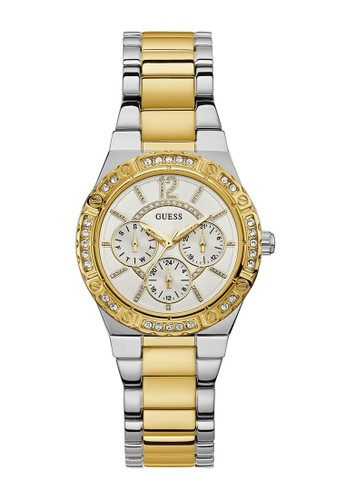 Guess Watch silver Guess Jam Tangan Wanita - Silver Gold - Stainless Steel  - W0845L5 B36E8ACADFB111GS 1 44c15bfac4