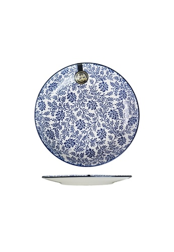 Table Matters multi Floral Blue - 8 inch Rice Plate 29A24HL7911DF5GS_1