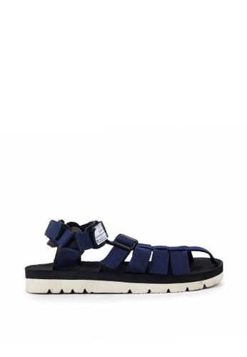 Navara blue Woodley Blue EVA Sandals 484F0SH917120AGS_1