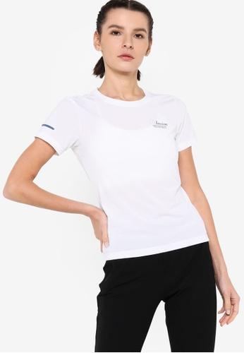 361° white Cross Training Short Sleeve T-shirt F8862AA0F31553GS_1