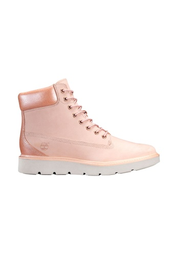 "Timberland pink Kenniston 6"" Lace-Up Boot TI324SH2UYPJHK_1"