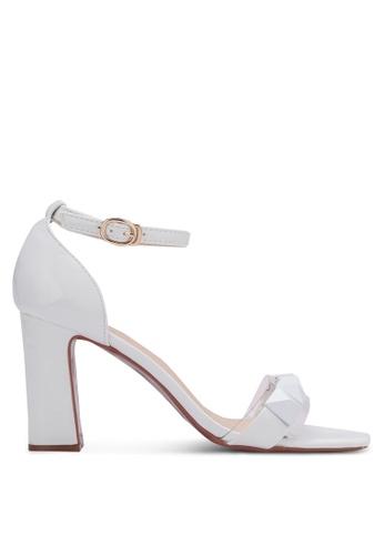 Something Borrowed white Studded Heels 595C0SHDF5075BGS_1