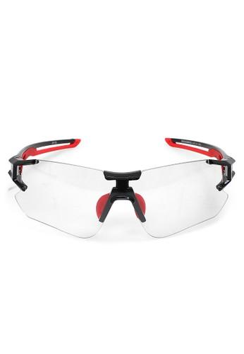 Hamlin red Elodie Kacamata Sepeda Olahraga Unisex Lensa Photochromic UV Protection Material Polycarbonate ORIGINAL - Black Red D66E9GL7A6C149GS_1