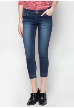 Modified Fashion Ankle Cut Low Waist Jeans