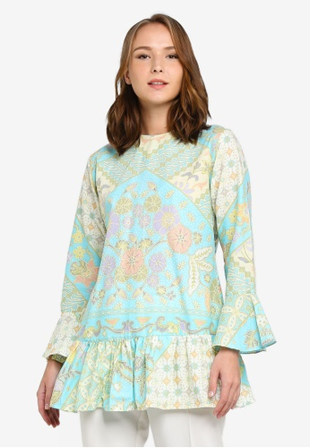 BLOUSE DALILA from NOOR ARFA in Green