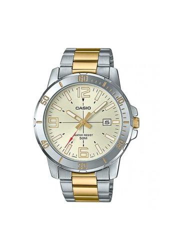Casio silver CASIO GENERAL MTP-VD01SG-9BVUDF MEN'S WATCH 0C37BAC1B74217GS_1