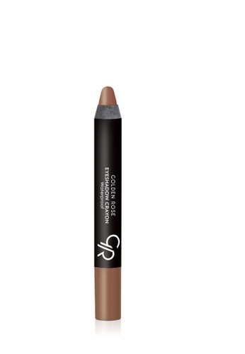 GOLDEN ROSE brown EYESHADOW CRAYON WATERPROOF - 14 GO743BE71FNCMY_1
