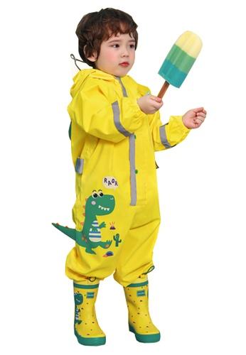 Twenty Eight Shoes yellow VANSA Cartoon One-piece Raincoat VCK-R19418 4FA63KA3C546DAGS_1