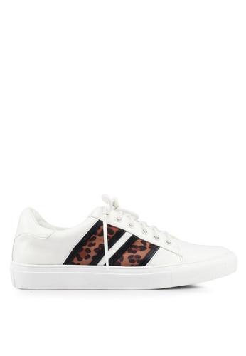 Miss Selfridge white Tara Trainer Shoes E7256SH182E271GS_1