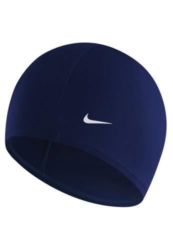Nike navy Nike Swim Unisex Synthetic Swim Cap 03267AC2620535GS_1