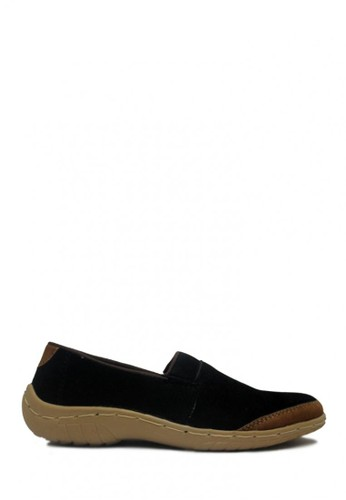 D-Island black D-Island Shoes Slip On Chukka Suede Leather Black DI594SH41EBEID_1