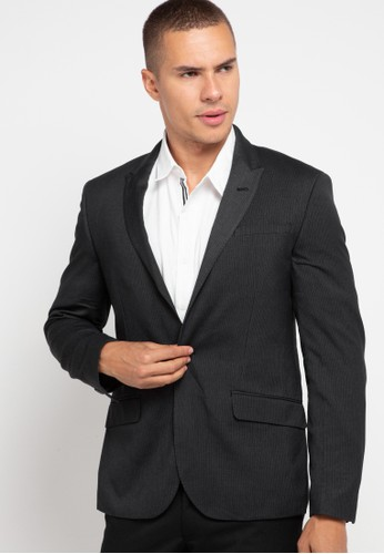 Andrew Smith grey Classic Formal Blazer B8B0AAA6A2E5E7GS_1