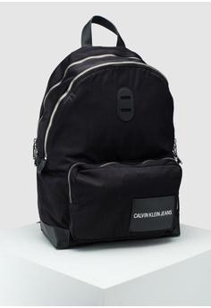 85111b7793 Calvin Klein black Campus Backpack - Calvin Klein Accessories  4A754AC16C0F3CGS 1