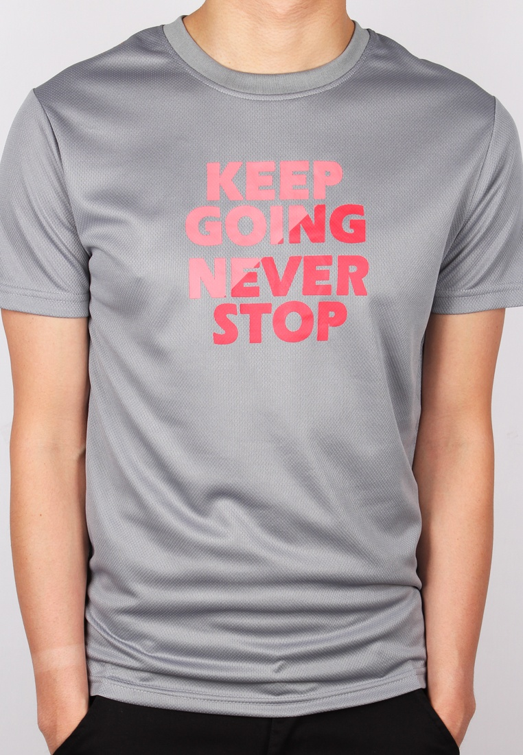 KEEP T STOP Grey NEVER GOING Shirt Moley OqpO8T