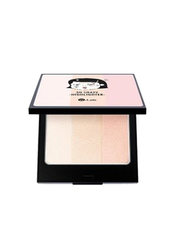 W.Lab 3D Shape highlighter WL589BE57RRMMY_1
