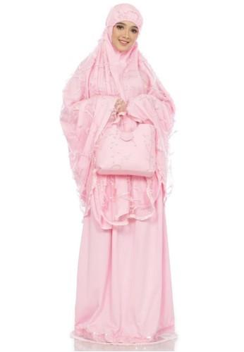 First Hijab pink Aileen Prayer Set Premium  in Pink 80923AA3B83191GS_1