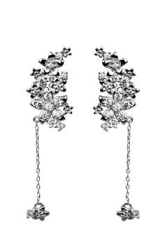 Enchantress Silver Earrings