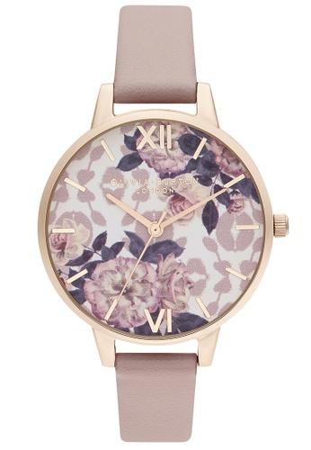 Olivia Burton multi Olivia Burton Wild Flower Rose Women's Watch (OB16LP03) 9DE45ACF7A461FGS_1