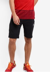 Odlo black Spoor Shorts OD608AA29KAOMY_1