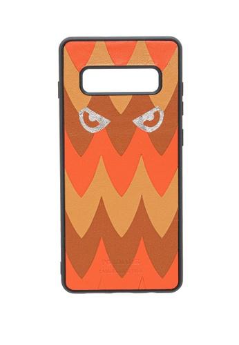 POROLUXE orange PHONE CASE FOR SAMSUNG S10+ CE3B2AC0910374GS_1