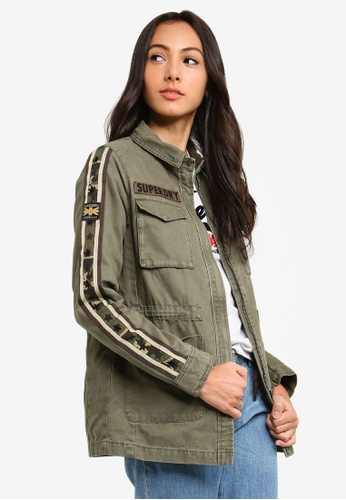 06192df1a7da20 Shop Superdry Rookie Star Shacket Online on ZALORA Philippines