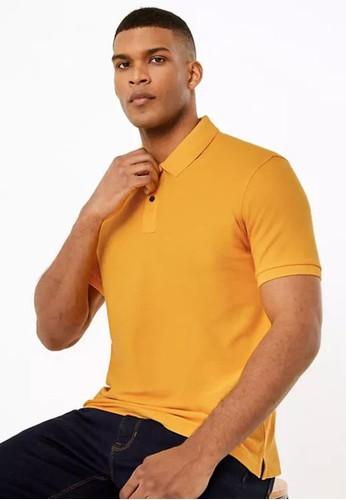 MARKS & SPENCER multi Pure Cotton Polo Shirt AD9E2AA90BCBDDGS_1