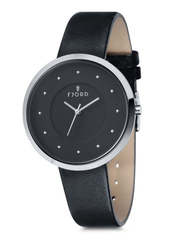 LAUResprit暢貨中心ENS 三指針皮革錶, 錶類, 飾品配件