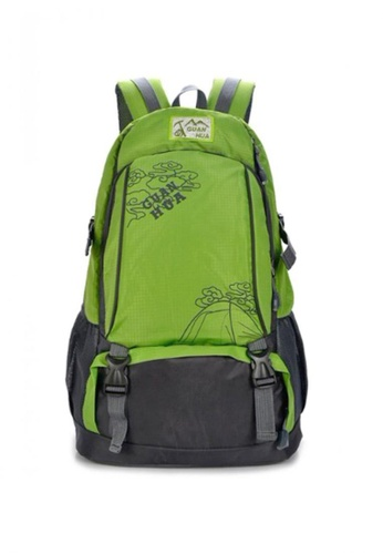Stylebox green GUANHUA JX-1020  Unisex Waterproof  Sport Multi Purpose Backpack 94C9FAC97540C0GS_1