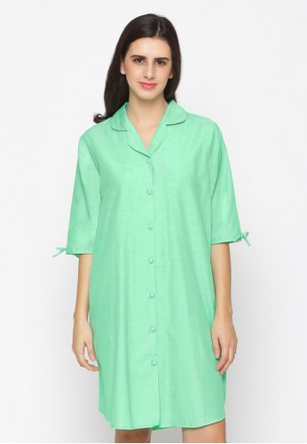 Impression green Nightdress Calista 9101 B094FAA42D9CABGS_1