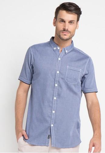Cressida blue Casual Short Shirts CR235AA00FXRID_1