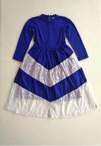 Vanessa and Cedreela blue Vanessa and Cedreela Long Dress Lace Style 4C6C2KA1FCC08CGS_1