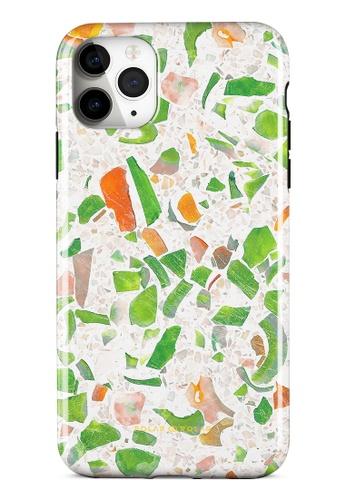 Polar Polar green Terrazzo Green Dual-Layer Tough Case Glossy For iPhone 11 Pro Max F1FB8ACC1448C5GS_1