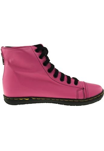 Maxstar pink Maxstar Women's 202 Back Zipper Hidden Heel PU Ankle Boots US Women Size MA164SH91QRSSG_1