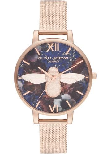 Olivia Burton gold Olivia Burton Semi Precious ROSE GOLD Women's Watch (OB16SP11) 4E2EBACC5EFD7EGS_1