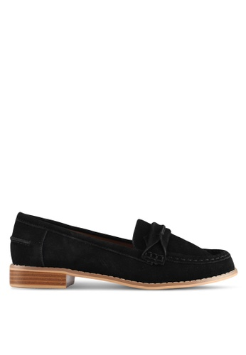 TOPSHOP black Black Lolly Loafers 75A7ESH0C8C2CEGS_1