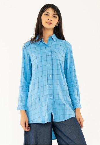 GEELA blue Citrani Shirt FF017AA7E24815GS_1