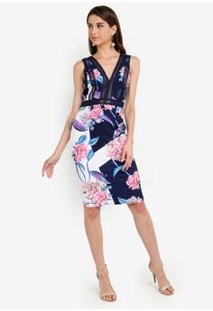 d95b0fe8c5c 15% OFF Little Mistress Floral Print Bodycon S$ 126.90 NOW S$ 107.90 Sizes  6 8 10 12 14