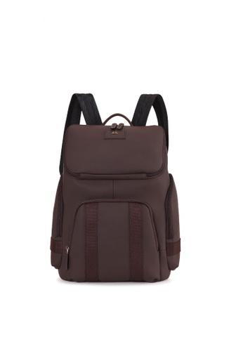 Charles Berkeley brown Charles Berkeley Browns Backpack (KP-19035) CB254AC6097E5FGS_1