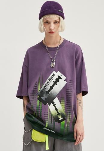 Twenty Eight Shoes Trend Printed Short T-shirt 1165S20 58A3EAA10595A5GS_1