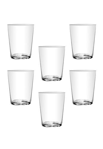 Union Glass n/a Thailand Premium Clear Glass Rock Glass Water, Juice, Soda, Liquor Glass 166ml - 5oz Set of 6 33033HL6B53E21GS_1