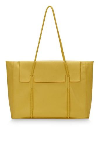 KWANI brown Norah Bag Medium Yellow BC32DAC949C665GS_1