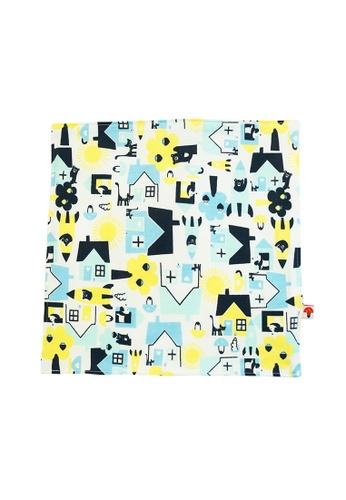Vauva yellow Vauva Baby Organic Little House City Towel 40198KC75AC6F9GS_1