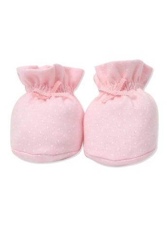 Organic mom pink Grateful Garden Socks (SPRING) 33D74KAB3BC605GS_1